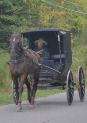 Amish Waving
